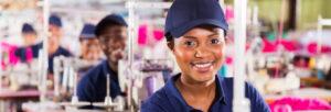emploi dans le secteur du textile